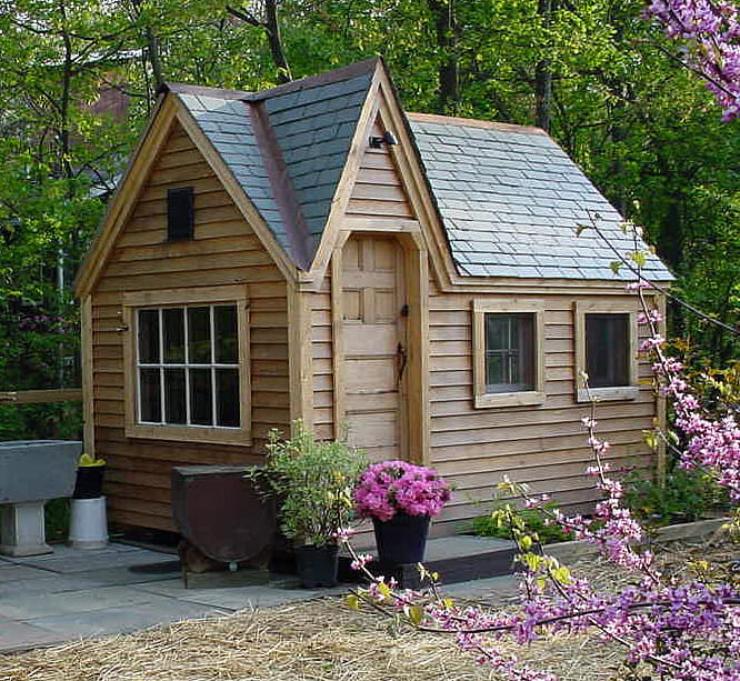 8x12 Dollhouse - Custom Exterior, do it yourself shed kits