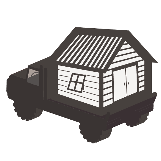 Fully-Assembled Building Icon
