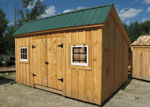 You can build your own storage shed with our saltbox building plans.