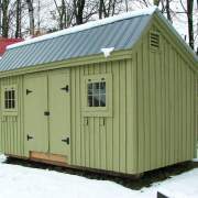 4x10 Hardware Shed