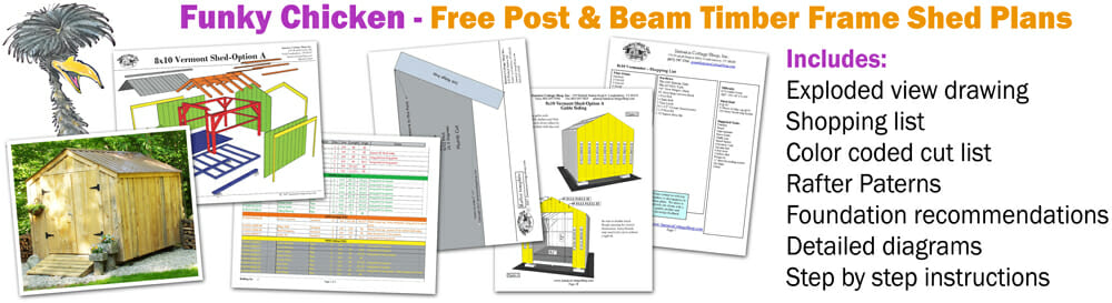 Download free shed plans