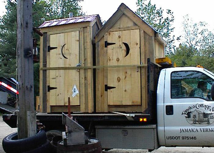Outhouse on JCS Transpotation