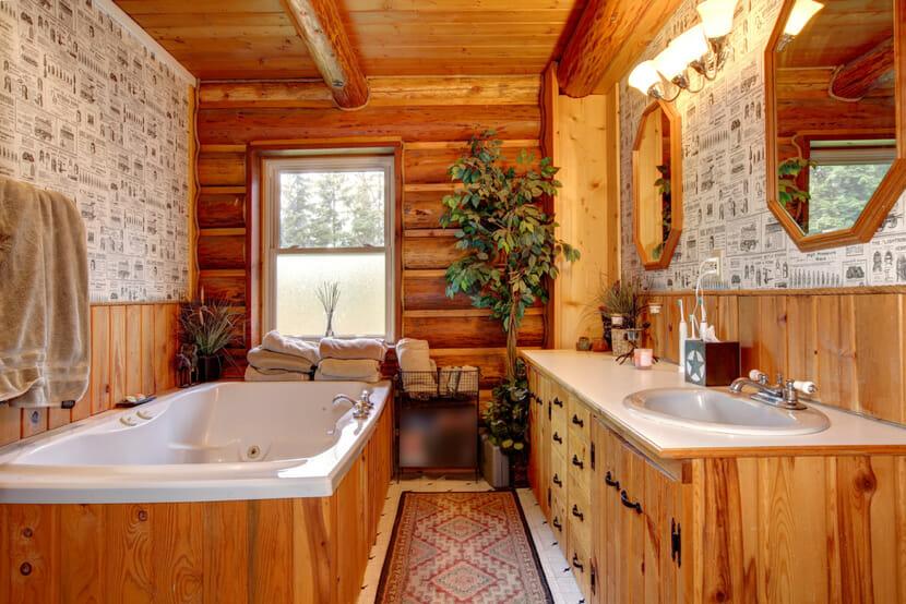 Tiny Home Bathroom Ideas Cabin Bathroom Decor