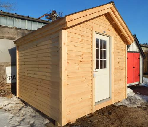 10x10 Gable - Custom Four Season Exterior