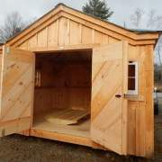 10x12 Tool Shed - shown with an extra window