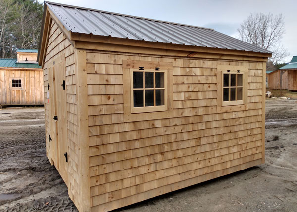 10x12 Gable - Custom Exterior
