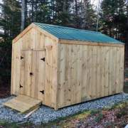 The 10x14 New Yorker Option B is a roomy and affordable storage shed solution