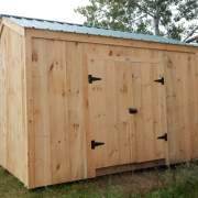 10X14 New Yorker Option A - Post and Beam Storage Shed