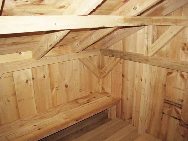 10x14 Camp Alcove - Interior