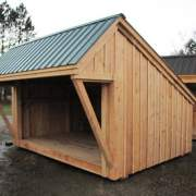 10x14 Camp Alcove with Overhang Extension