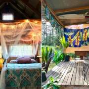 10x16 Hobby House kit that was constructed in Hawaii as a room rental at a yoga retreat