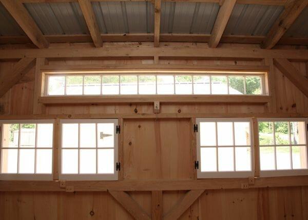 10x16 Smithaven Hinged Barn Sash Windows