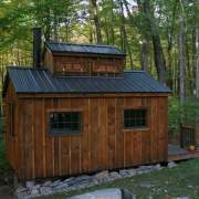 10x16 Sugar Shack with window, roof and roof flashing upgrades