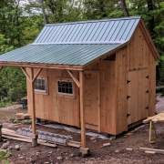 10x16 Hobby House with Overhang