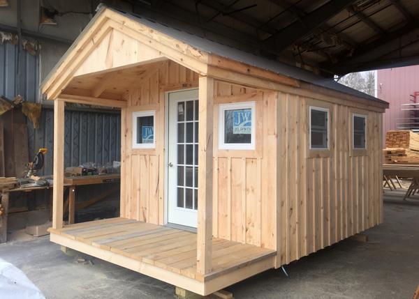 10x16 Pond House - Custom Insulated Exterior