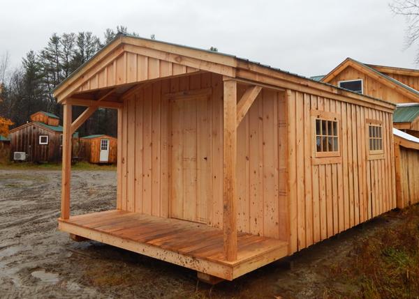 12x20 Home Office with barn sash windows