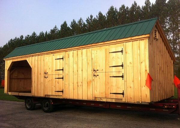 10x30 Stall Barn with dutch doors