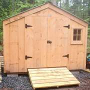 10x4 Utility Shed - Exterior