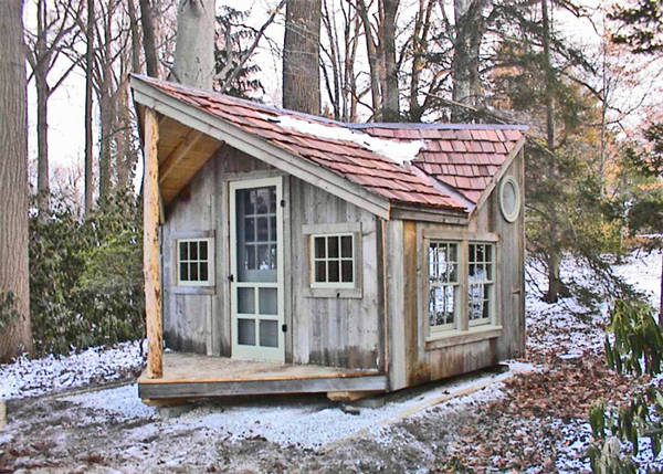 12x16 Backyard Retreat - Customized Cabin