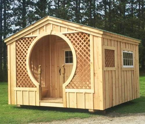 12x12 Love Nest with special porch details