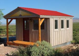 Custom Home Office built from four season kit