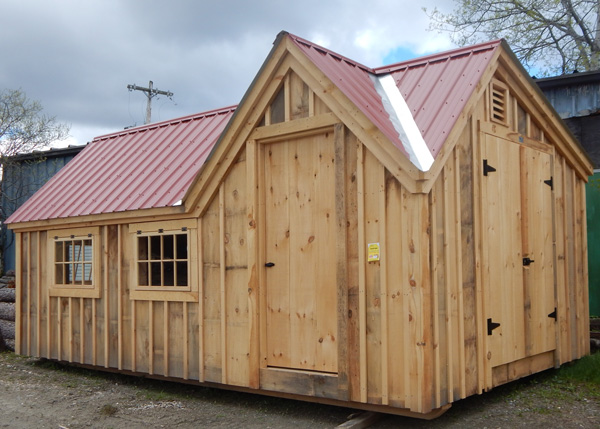 12x20 Xylia - Custom Shed Exterior
