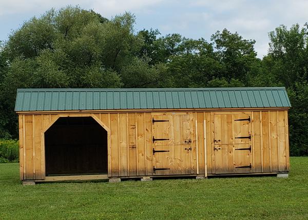 12x30 Stall barn