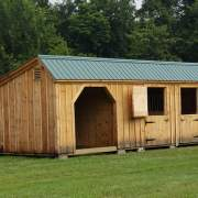 12x30 Three Stall Barn