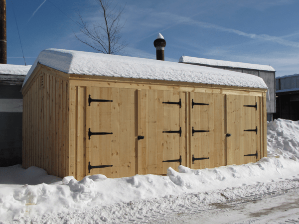 14x20 Barn Garage with 80 lb sq/ft snow load
