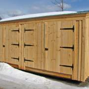 14x20 Barn Garage - A versatile building that can be utilized in many ways