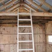 14x20 One Bay Garage with loft and ladder