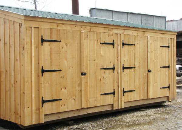 14x20 Barn Garage Option B