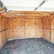 14x20 Barn Garage with pressure treated sill plate