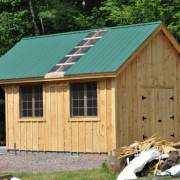 Vermont Cottage Option C with roofing and door upgrades
