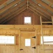 A loft and loft ladder are included with the complete kit, three season kit or four season kit.