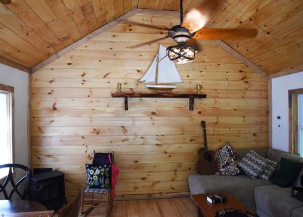 16x20 Vermont Cottage Option C - Four Season Interior