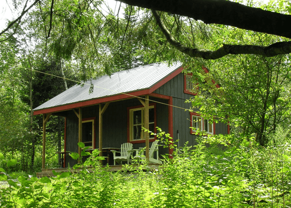 16x20 Vermont Cottage A with insulated windows