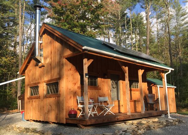 Vermont Cottage A Solar Panels