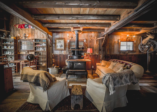 20x30 Vermont Cabin Interior