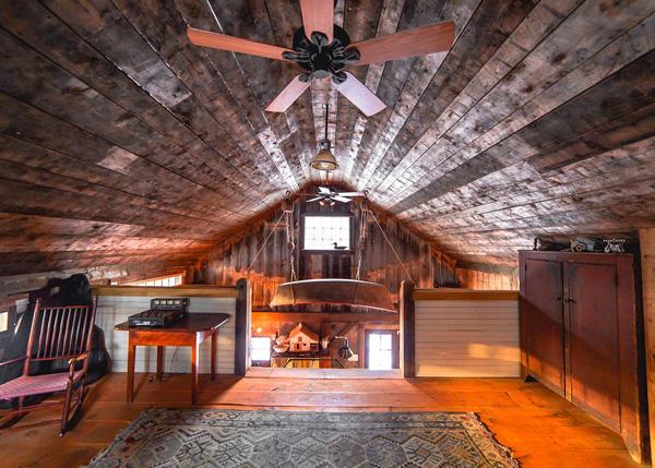 20x30 Vermont Cabin Loft