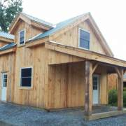 20x30 Cabin with dormer and overhang upgrades plus extra windows and doors
