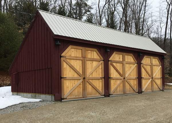 20x36 Equipment Shed