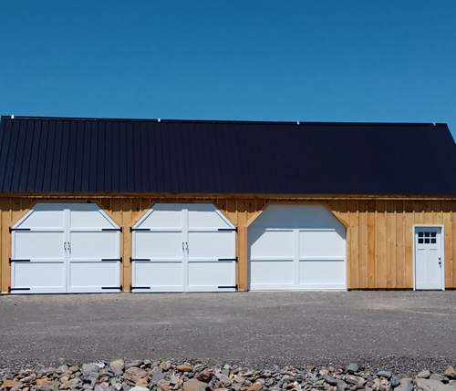 24x48 Equipment Shed - Custom Exterior