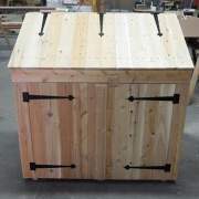 The 2x4 Garbage Bin also works well for keeping your recycling organized.