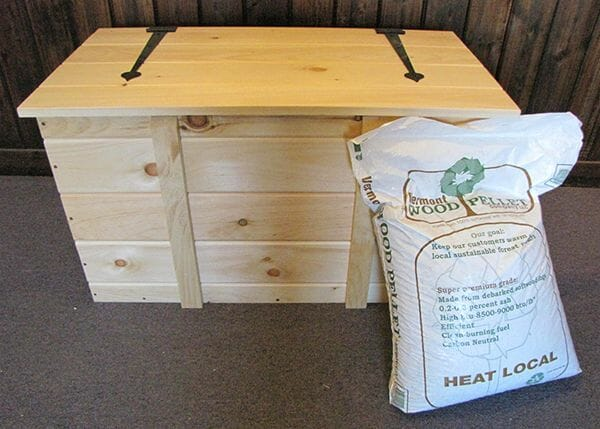 2x3 Ready to Assemble Wooden Pellet Box