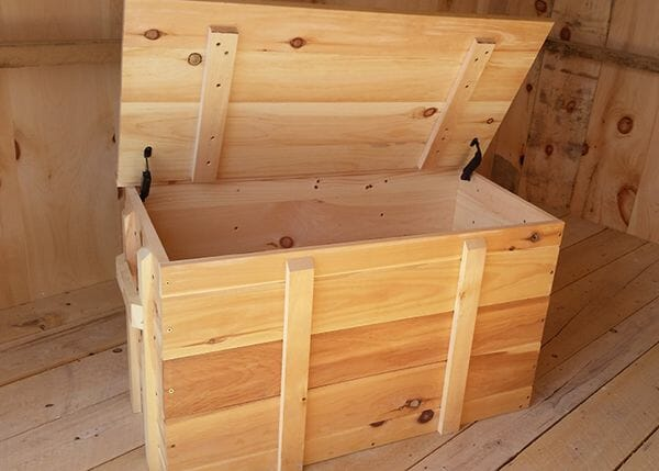 2x3 Ready to Assemble Wooden Pellet Box