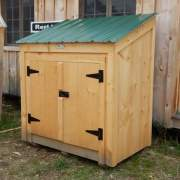 3x5 Garbage Bin holds two large trash cans