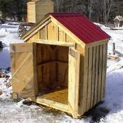 6x4 Utillity Shed - small and affordable storage shed solution