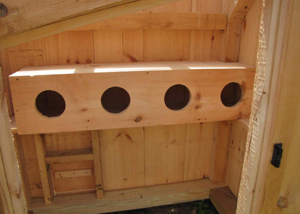 Upsize your coop with an order of nesting boxes.