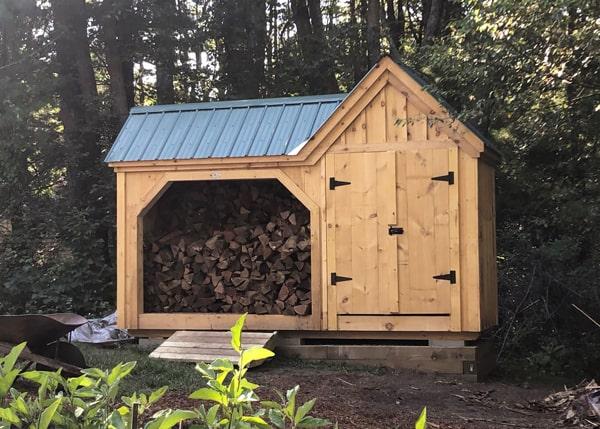Vermont Gem - Firewood Storage Shed